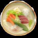 Sashimi z3 rodzajów ryb
